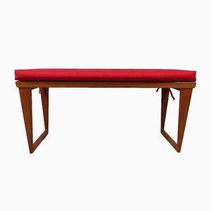Teak Bench by Kai Kristiansen for Aksel Kjersgaard & Odder Denmark, 1960s