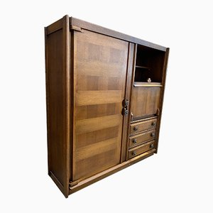 Secretaire by Guillerme et Chambron, 1950s
