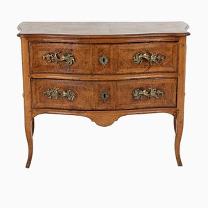 18th Century Louis XV Commode in Marquetry