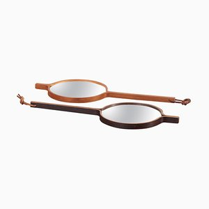 Hand or Table Mirror by Bech & Starup for Den Permanente, Denmark, 1960s