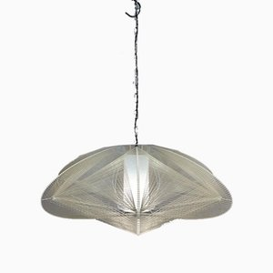 Nylon and Perspex Ceiling Lamp, 1970s