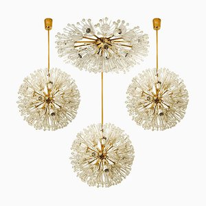 Snowball Orbit Sputnik Light Fixtures by Emil Stejnar, Austria, 1950s, Set of 4