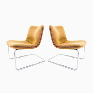 Cantilever Arcus Chair from Gispen, Set of 2