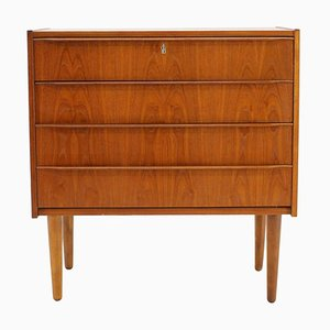 Teak Chest of Drawers, Denmark, 1960s