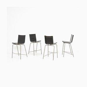 Crossed Leg Barstools by Fabiaan Van Severen, 1990s, Set of 4