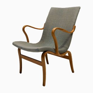 Schwedische 1. Edition the Working Chair von Bruno Mathsson für Firma Karl Mathsson, 1941