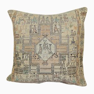 Animal Kilim Soumak Cushion Cover