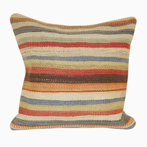 Animal Striped Kilim Cushion Cover