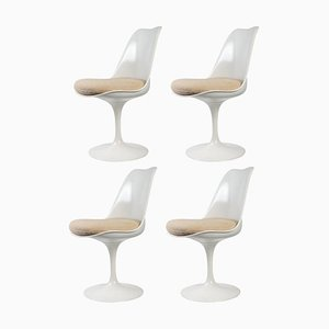 Tulip Chairs by Eero Saarinen for Knoll International, 1950s, Set of 4