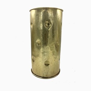 Mid-Century Brass Umbrella Stand, 1960s