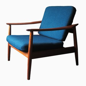 Mid-Century Danish Teak Lounge Chair by Arne Vodder for France & Søn / France & Daverkosen, 1960s