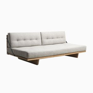 Mid-Century Model 191 Sofa Bed by Børge Mogensen for Fredericia, Denmark, 1950s