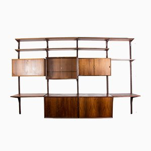 Large Danish Rio Rosewood Modular Shelf by Poul Cadovius for Cado, 1960s