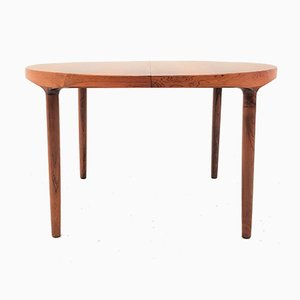 Rosewood Model 26 Extendable Dining Table by Harry Østergaard for Randers Møbelfabrik, 1960s