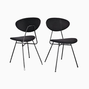 Black Chairs by Rob Parry for Gelderland, Set of 2