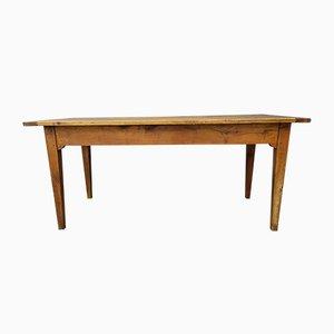 Antique Oak Farm Dining Table