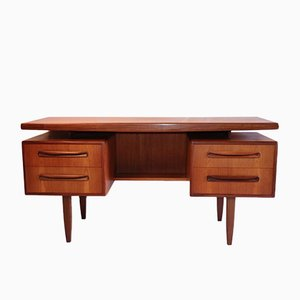 Scandinavian Desk & Stool from G-Plan, 1960s, Set of 2