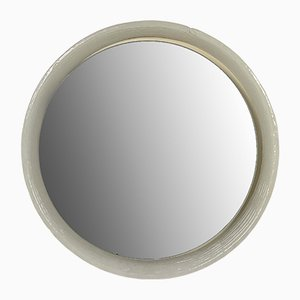 Glass Round Mirror by Egon Hillebrand for Hillebrand Lighting, 1970s