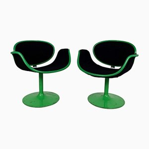 Little Tulip Chairs 1st Edition by Pierre Paulin for Artifort, 1960s, Set of 2
