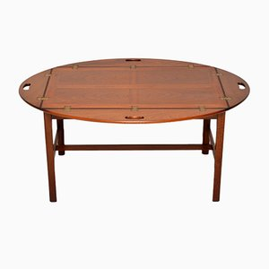 Mahogany Butlers Tray Coffee Table, 1950s