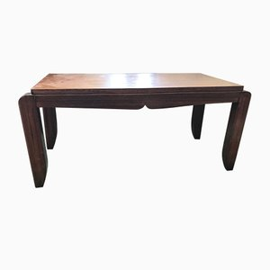 French Art Deco Rosewood Coffee Table, 1930s