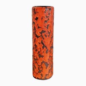 Vintage Cylinder Vase from P-Keramik