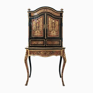 Antique French Boulle Secretaire Desk