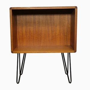 Danish Modern Teak Hairpin Chest of Drawers, 1970s