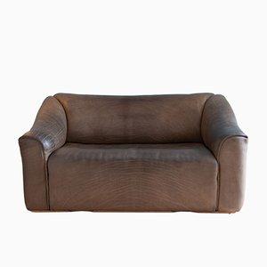 Vintage DS 47 Sofa aus Büffelleder von de Sede, 1970er