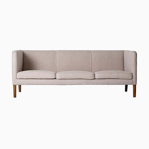 Mid-Century Model AP 18S 3-Seat Sofa by Hans J. Wegner for A.P. Stolen, 1950s