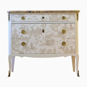 Mid-Century Chinoiserie Chest of Drawers