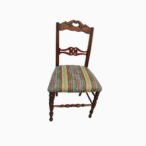 Antique Cherry Dining Chairs, 1900s, Set of 6