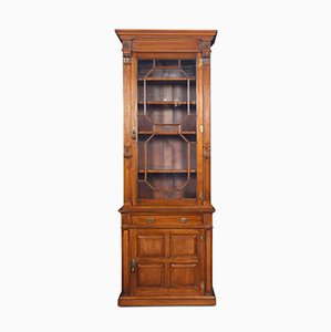 Antique Walnut Pier Bookcase