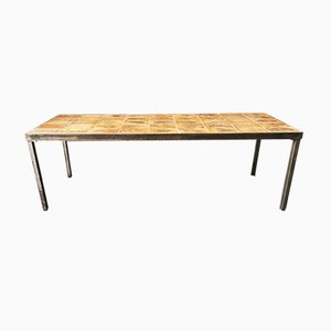 Low Rectangular Coffee Table by Roger Capron, 1970s