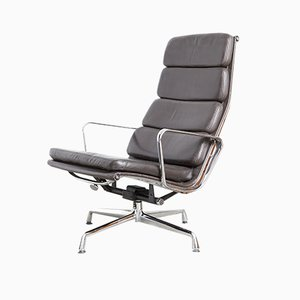 Vintage EA222 Swivel Lounge Chair by Charles & Ray Eames for Vitra, 1980s