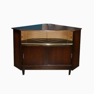 Mid-Century Corner Bar Cabinet, 1960s