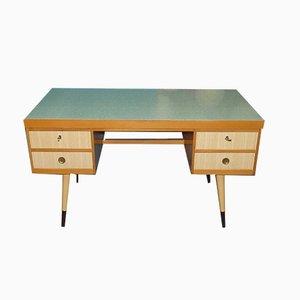 Mid-Century Pastel Green Formica Desk from EKA Werke Horn, 1950s