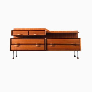 Italian Rosewood Chest of Drawers from Sorgente Mobili di Arosio, 1960s