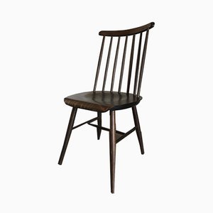 Vintage Spindle Back Dining Chairs by Yngve Ekström for Pastoe, 1960s, Set of 2