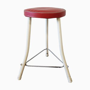 Mid-Century Industrial Stool from Brabantia