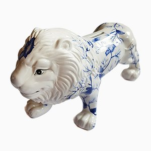 Vintage Lion Piggy Bank