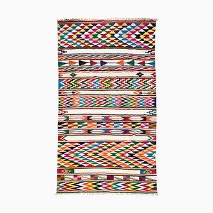 Großer handgefertigter nordafrikanischer Berber Boho Teppich, 1970er