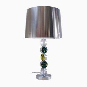 Dutch Aluminium, Steel & Glass Table Lamp by Nanny Still for Raak, 1972