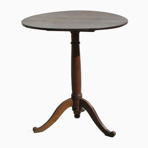Small Restoration Period Tripod Table with Tilting Top