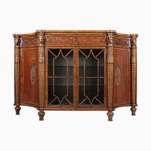 Fine Satinwood and Parcel Gilt Cabinet, 1840s