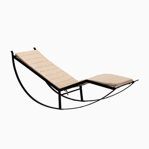 Mid-Century Rocking Lounger