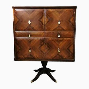 Mid-Century Italian Wooden Bar Cabinet by Paolo Buffa, 1950s