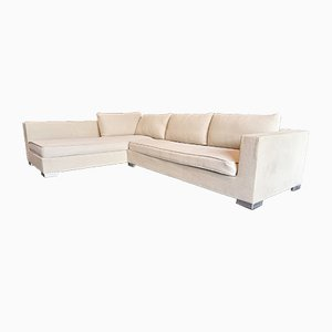 Rive Gauche Corner Sofa by Didier Gomez for Cinna Ligne Roset, 2000s, Set of 2