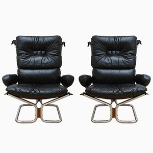 Armchairs by Ingmar Relling, 1970s, Set of 2