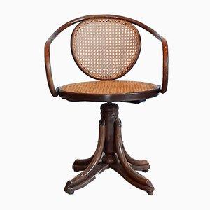 No. 5501 Bentwood Swivel Chair from ZPM Radomsko, 1970s